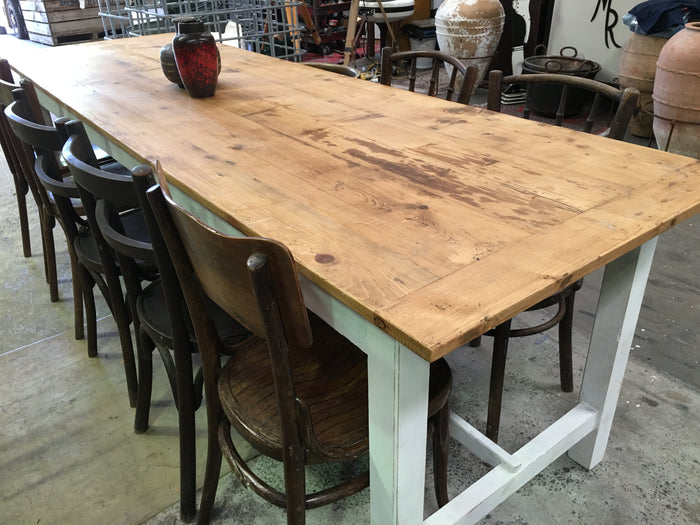Vintage industrial French kitchen tables #1568