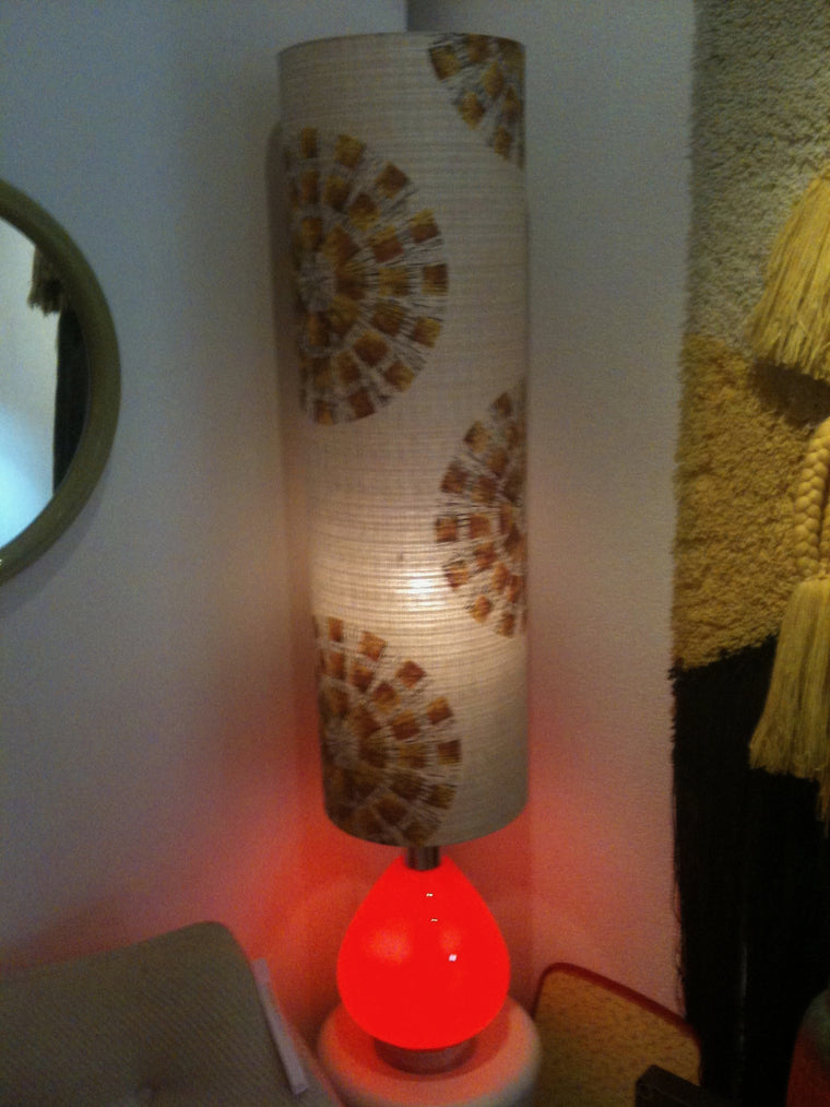 Vintage 60s Murano glass table lamp #1027