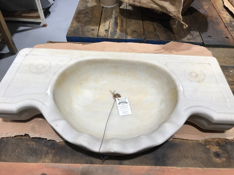 Vintage industrial Turkish Marble sink #2008/5