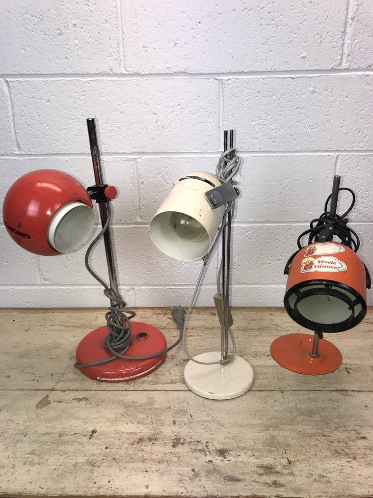 Vintage industrial CZECH warehouse lights #926