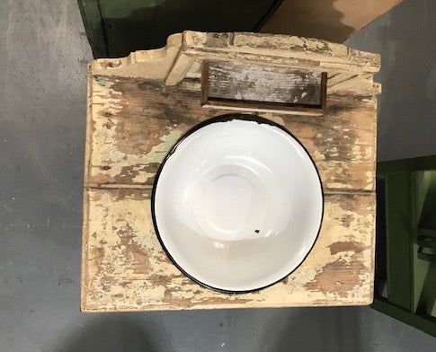 Vintage European Face Wash Stand #3123 (3)