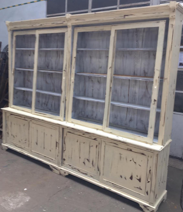 Vintage Dutch pharmacy cabinet  #2566