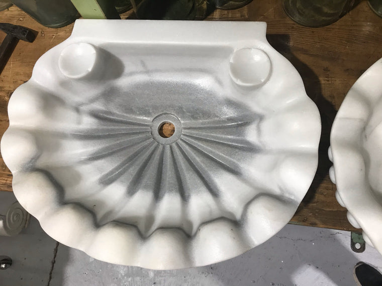 Vintage Turkish Marble Sink  #3246 (3)
