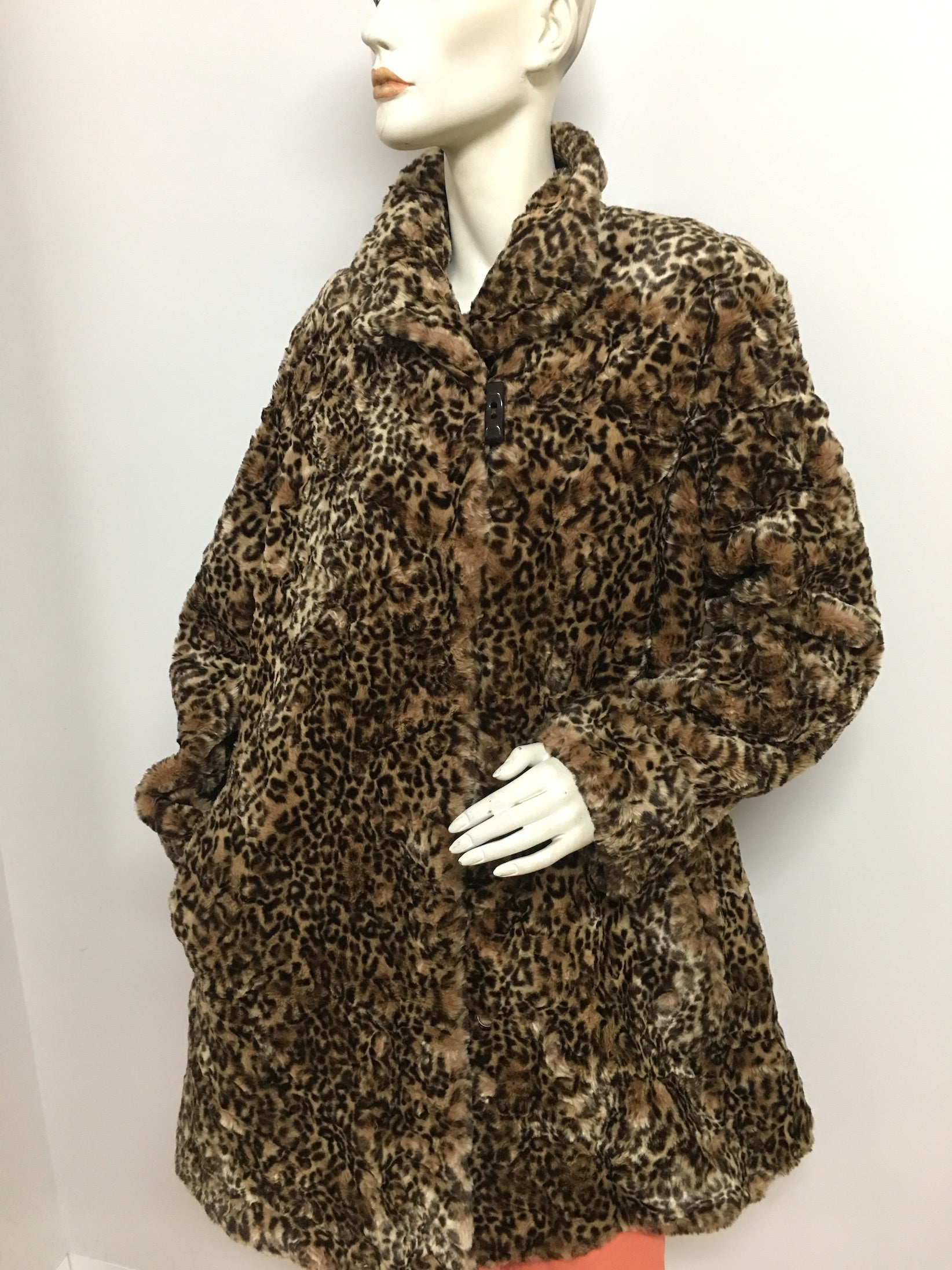 Faux Fur  Jacket #C006