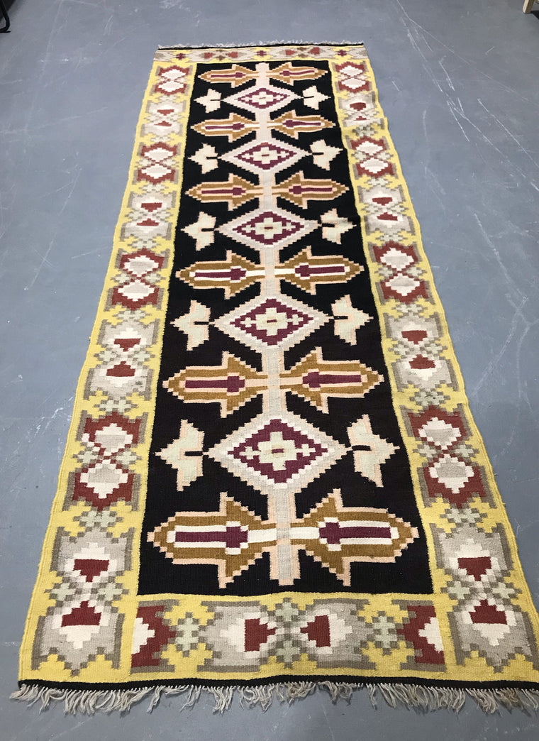 Vintage European Gypsy Carpet  #3296