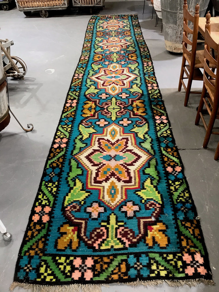 Vintage European Gypsy Carpet  #3299