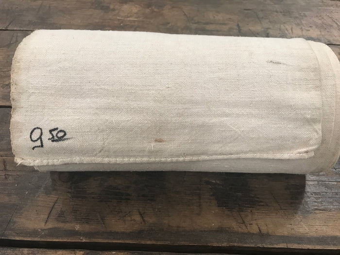 Vintage French Linen rolls old never used 1950s  #2120 9meters