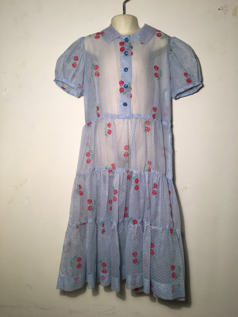 Kids 50s Vintage Dress #C009 FREE AUS POSTAGE
