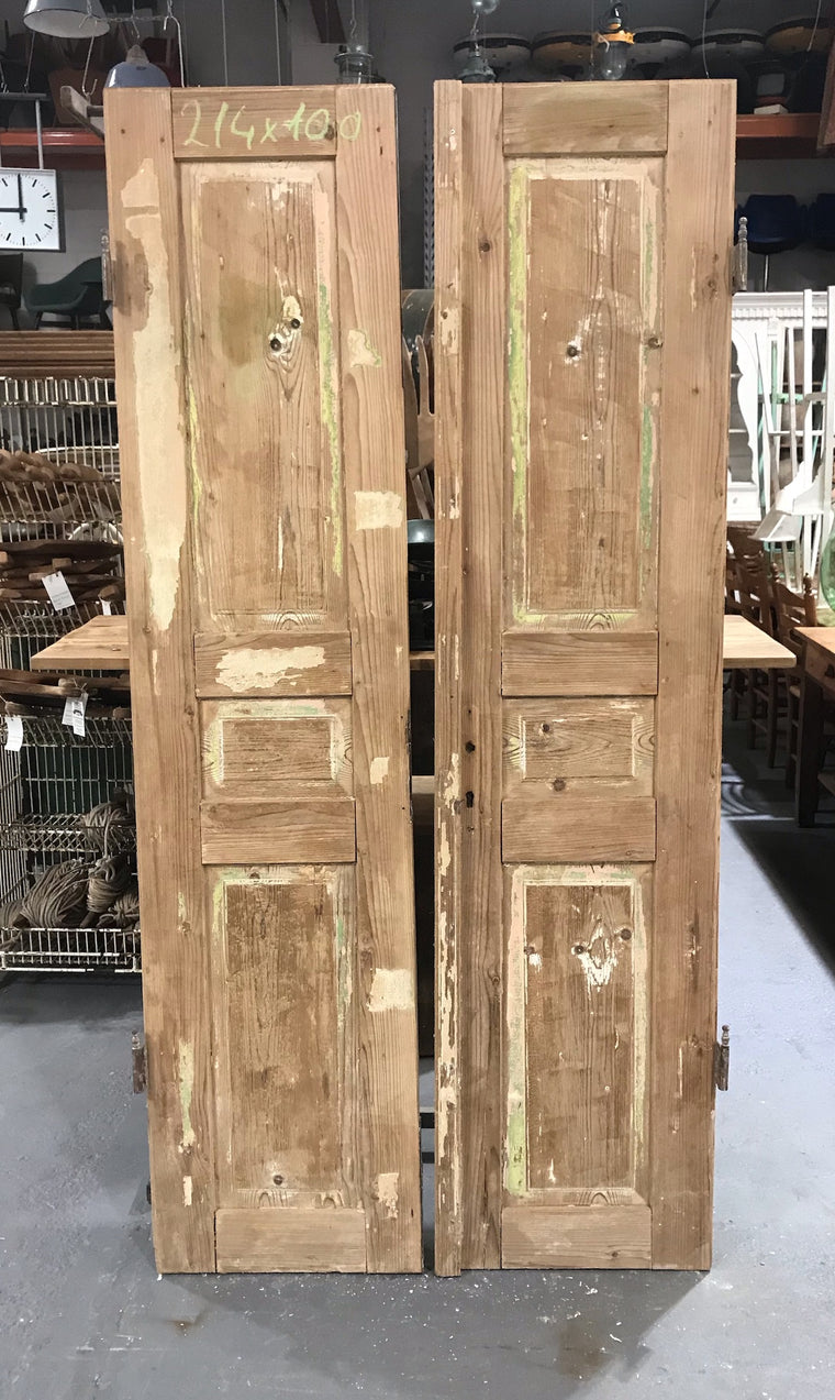 Vintage European Wooden House Doors  #3434