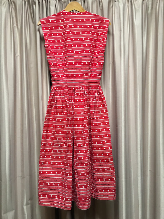 Vintage 50s Dress #C075 FREE POSTAGE AUS WIDE