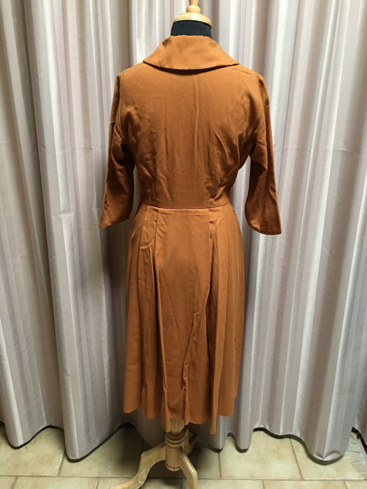 Vintage 50s Dress  #C077 NQR FREE POSTAGE AUS WIDE