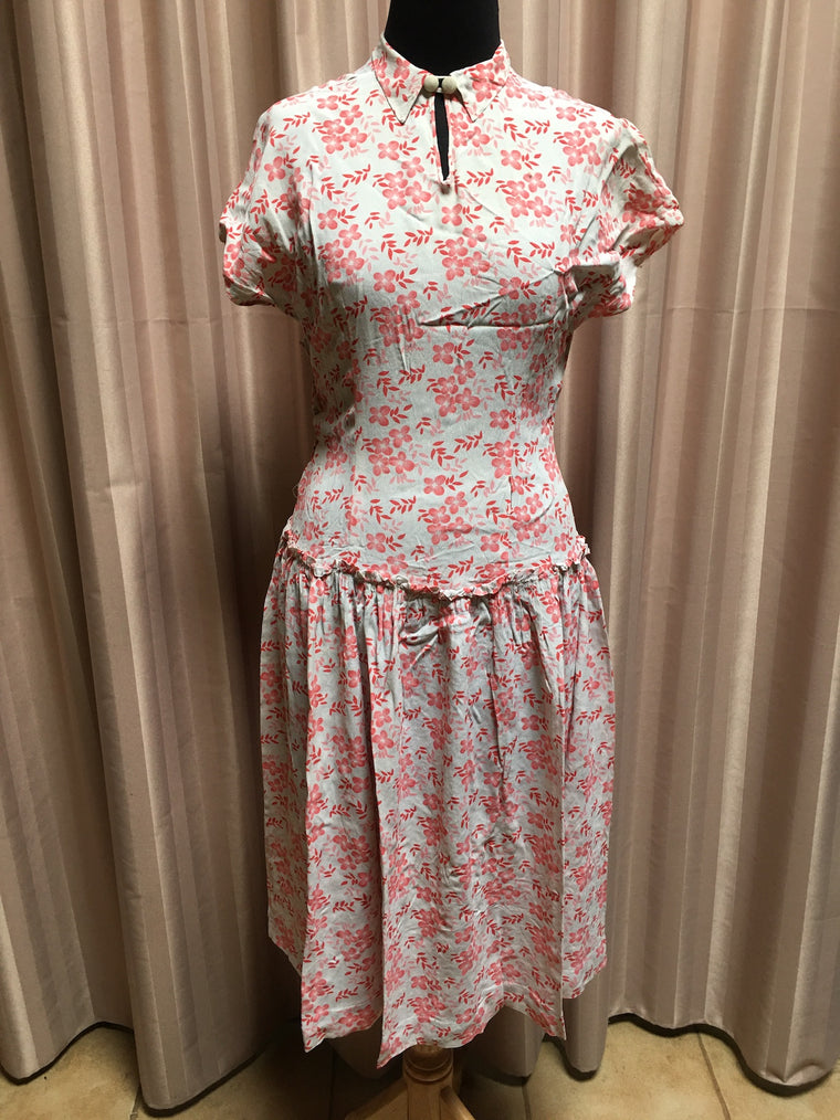 40s Dress  #C080 NQR FREE POSTAGE AUS WIDE