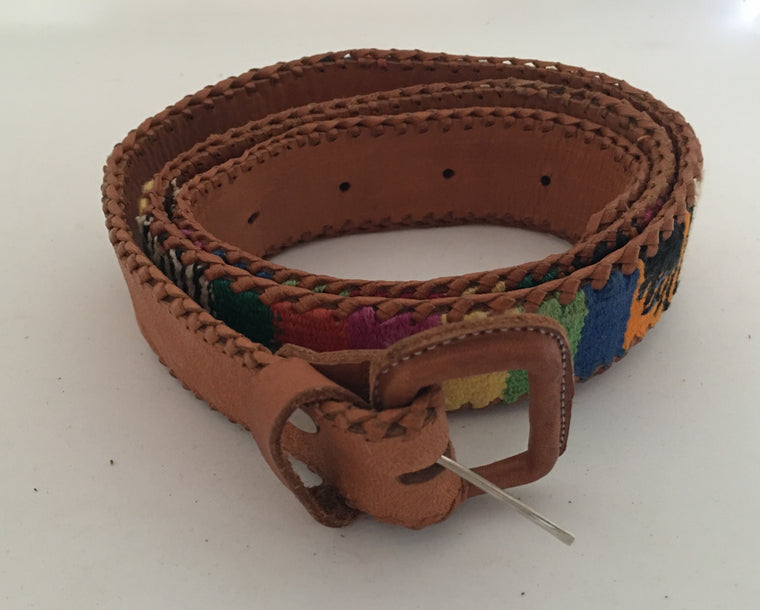 Vintage Leather Belt #C103 FREE POSTAGE AUS WIDE