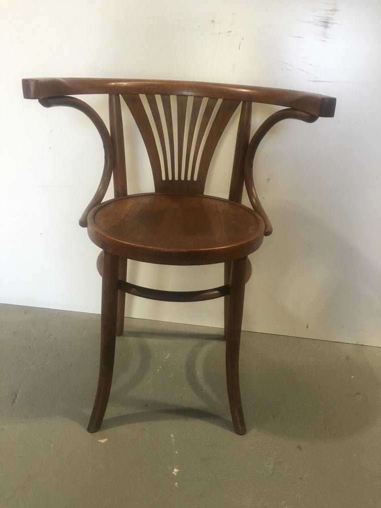 Vintage Czech Thonet Chair  # 3102 (10)