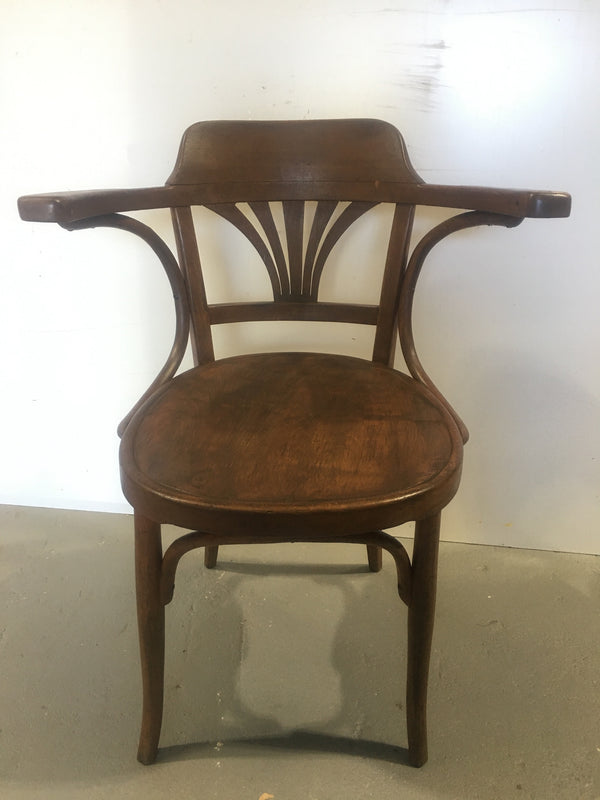 Vintage Czech Thonet Chair  # 3102 (14)