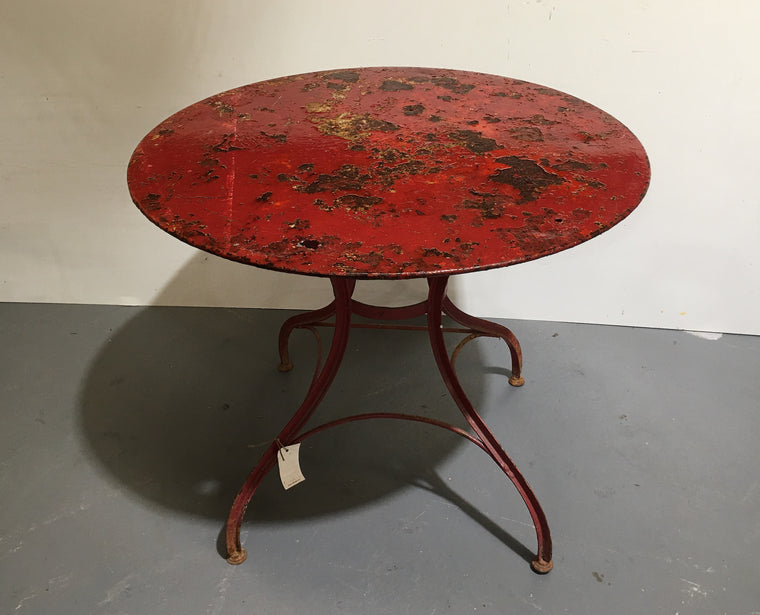 Vintage Metal Garden  Table  #3103 (3)