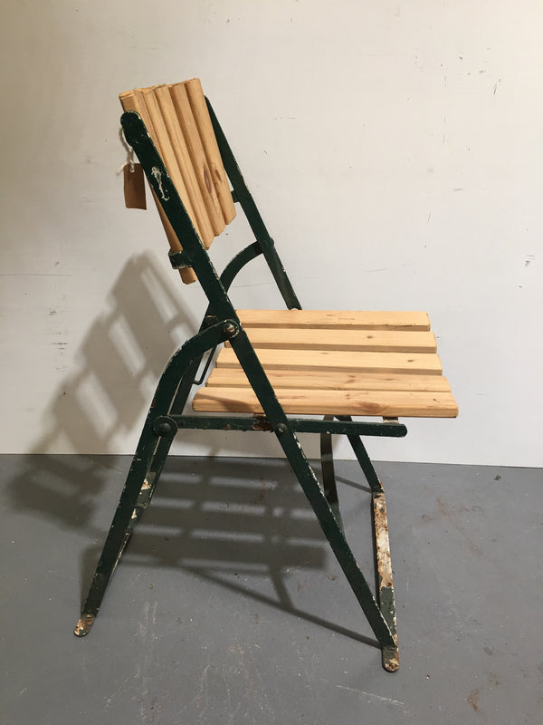 Vintage Foldable Garden Chair  # 3107 (1)