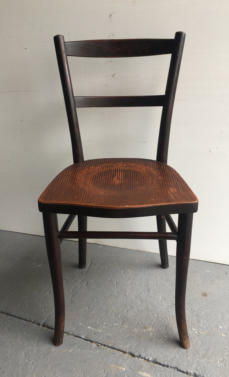 Vintage Czech Thonet Chair  # 3115 (3)