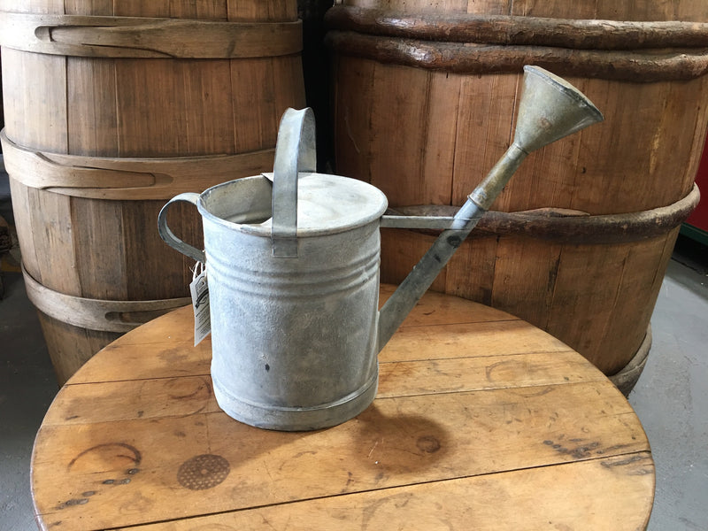 Vintage European  Galvanized Watering Can  #3121 (2)