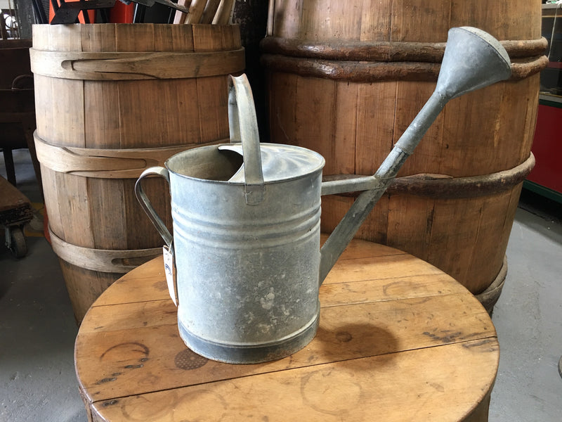 Vintage European  Galvanized Watering Can  #3121 (3)