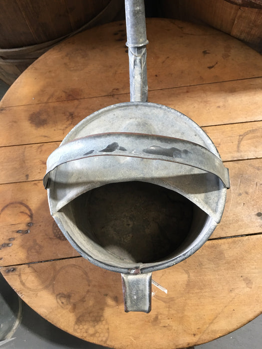 Vintage European  Galvanized Watering Can  #3121 (5)