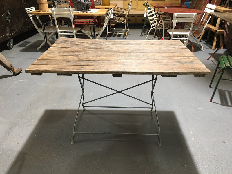 Vintage Foldable Garden  Table  #3126 (3)
