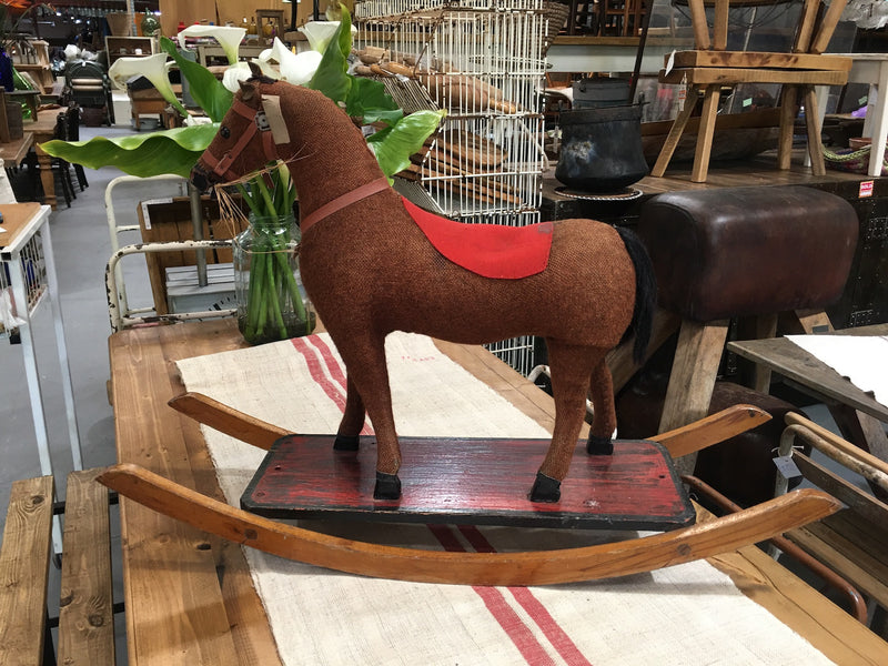 Vintage Small Rocking Horse #3172