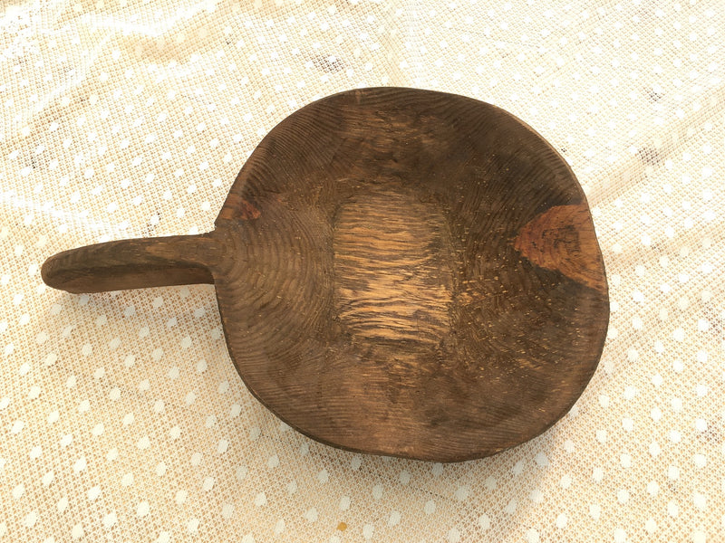 Vintage  Wooden Grain Scoop  #3250 (5)