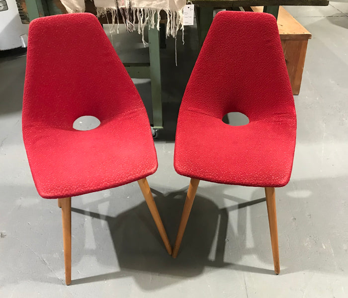Vintage Czech Cocktail Chair  #2950