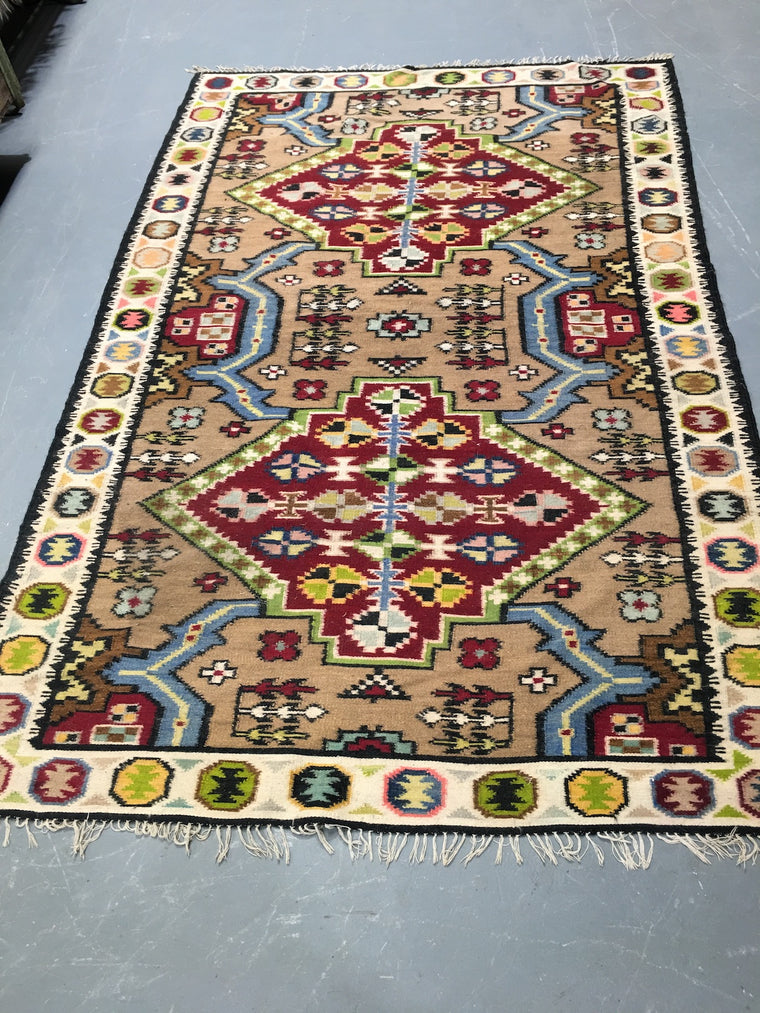 Vintage European Gypsy Carpet  #3302