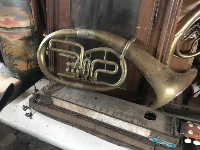 Vintage French Horn instrument #2431