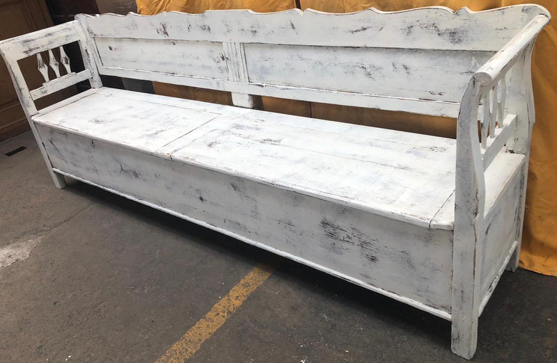European wooden kitchen box bench  #2993/16 coming in Sep/october container