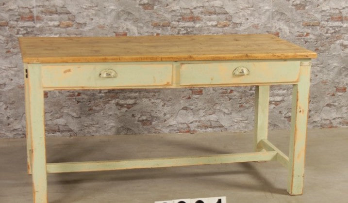 Vintage French kitchen farmhouse dining tables 1.5 mt #2523