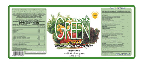 Pure Form Power Green Pro