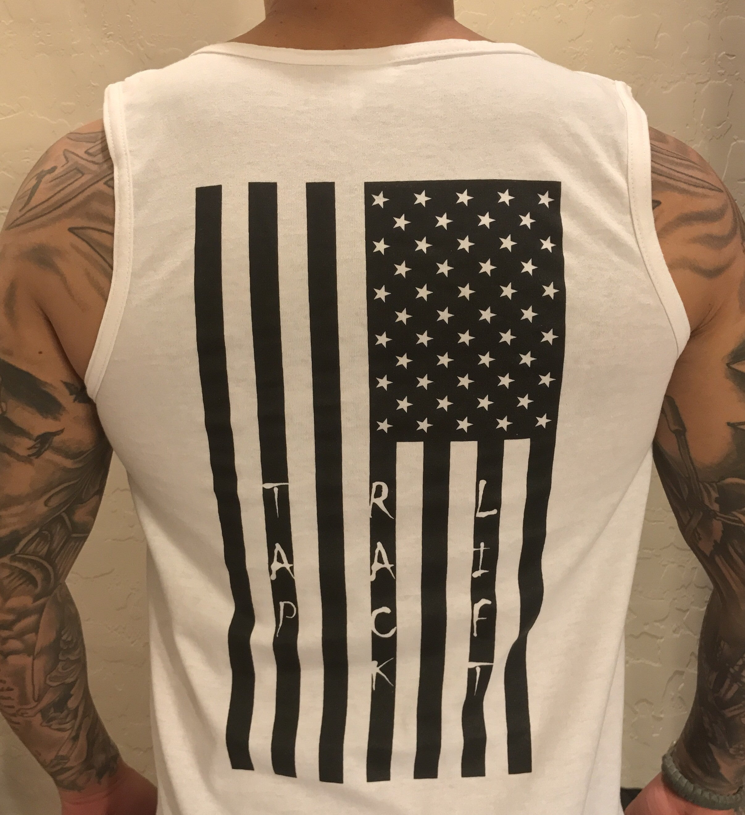 Men's TRL Reverse Flag Logo Tank Top