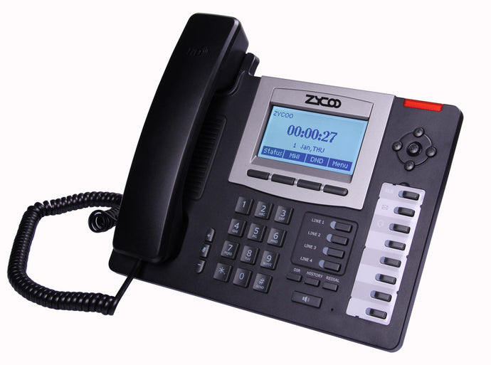 Zycoo CooFone-D60P IP Phone - Front
