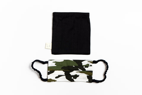 Face Mask Camo Reversible
