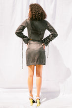 Stromboli striped Mini skirt