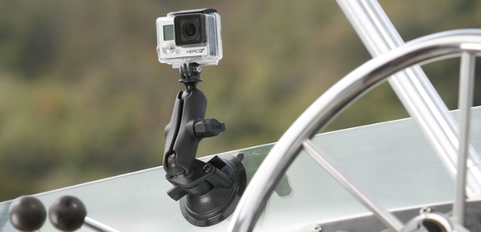 Comparison: GoPro® VS RAM® - Suction Cup Mounting Systems