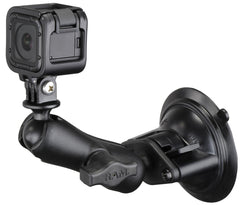 RAM suction cup mount with gopro adapter product photo