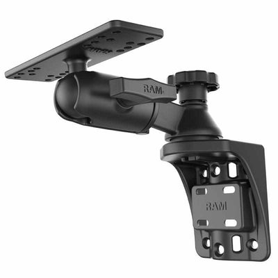 "RAM 6"" Vertical Swing Arm with Swivel Ball & Socket (RAM-109VSB) - Modest Mounts"
