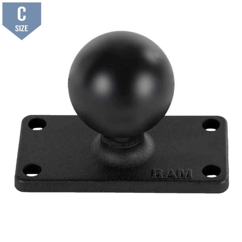 "RAM 1.5"" Ball with 1.5 x 3"" Base (RAM-202U-153)-Modest Mounts"