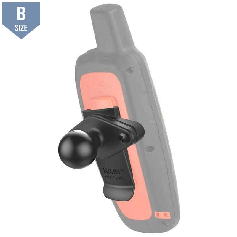 "RAM Garmin Spine Mount w 1"" Ball (RAM-B-202-GA76U) - Modest Mounts"