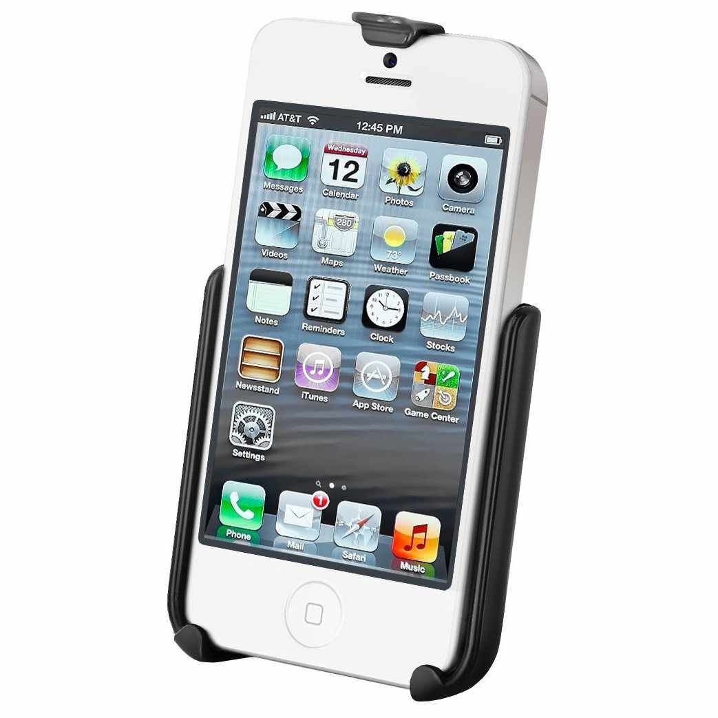 RAM Cradle for iPhone 5 & 5s WITHOUT case (RAM-HOL-AP11U) - Modest Mounts