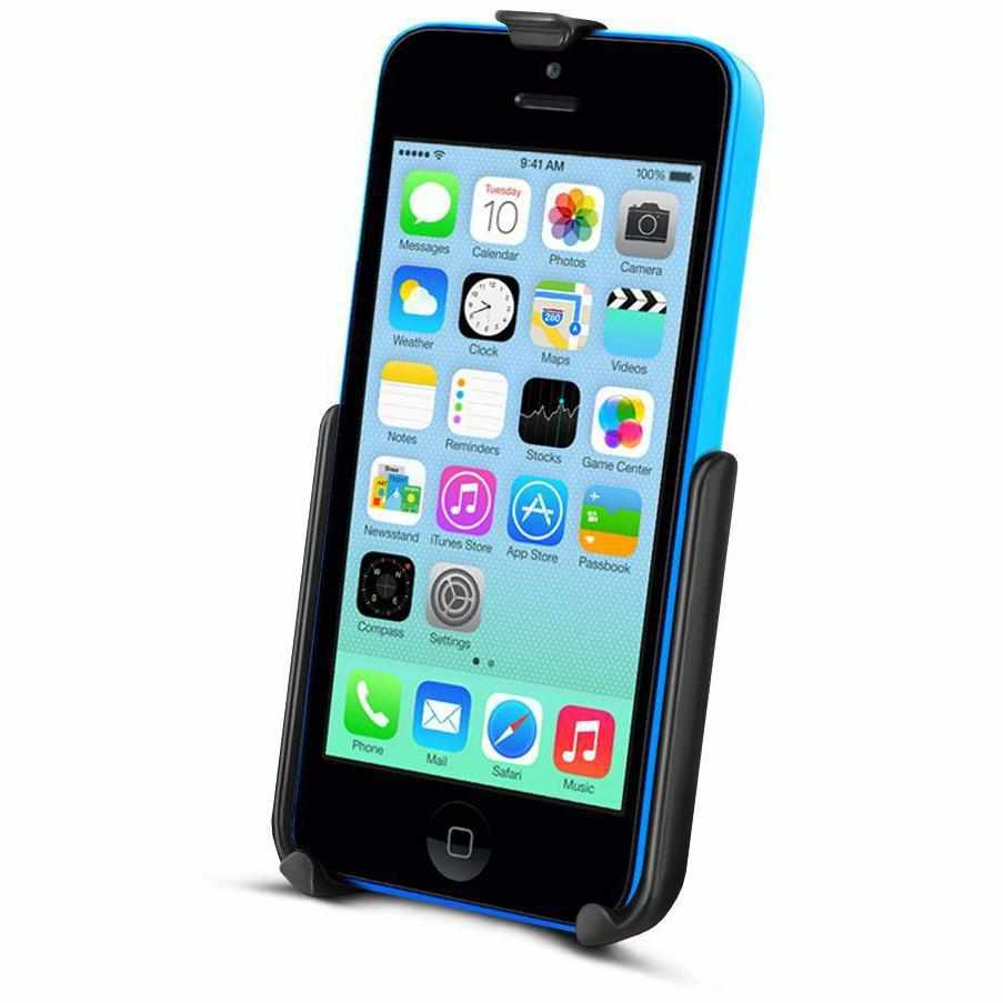 RAM Cradle for iPhone 5c WITHOUT case (RAM-HOL-AP16U) - Modest Mounts
