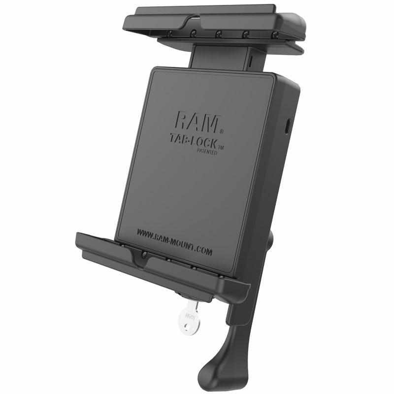 RAM Tab-Lock™ Cradle for iPad Mini 1-4 w Case (RAM-HOL-TABL12U) - Modest Mounts