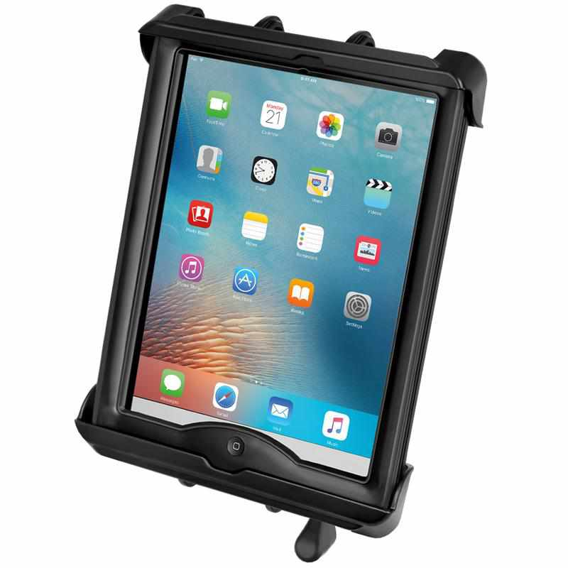 RAM Tab-Lock Cradle iPad 1-4 w Case + More (RAM-HOL-TABL17U) - Modest Mounts