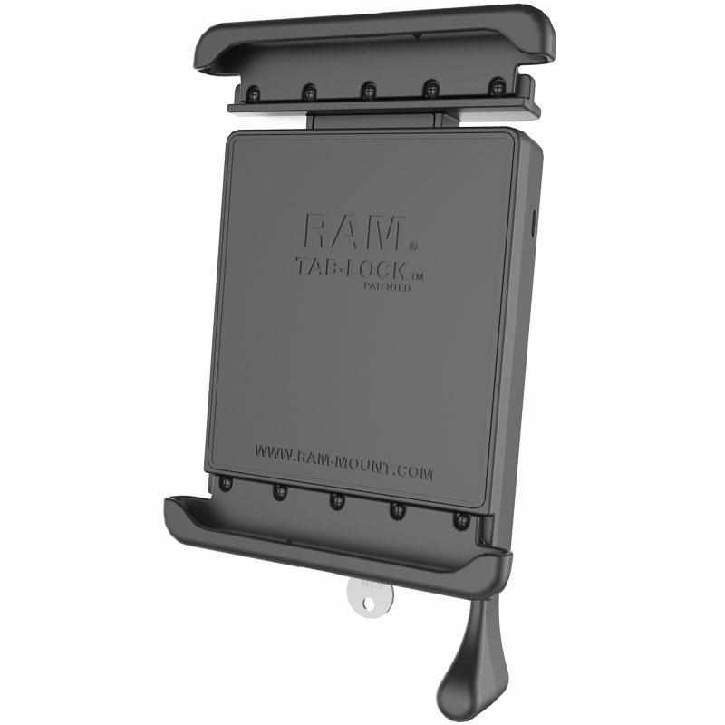 "RAM Tab-Lock™ Holder for 8"" Tablets (RAM-HOL-TABL27U) - Modest Mounts"