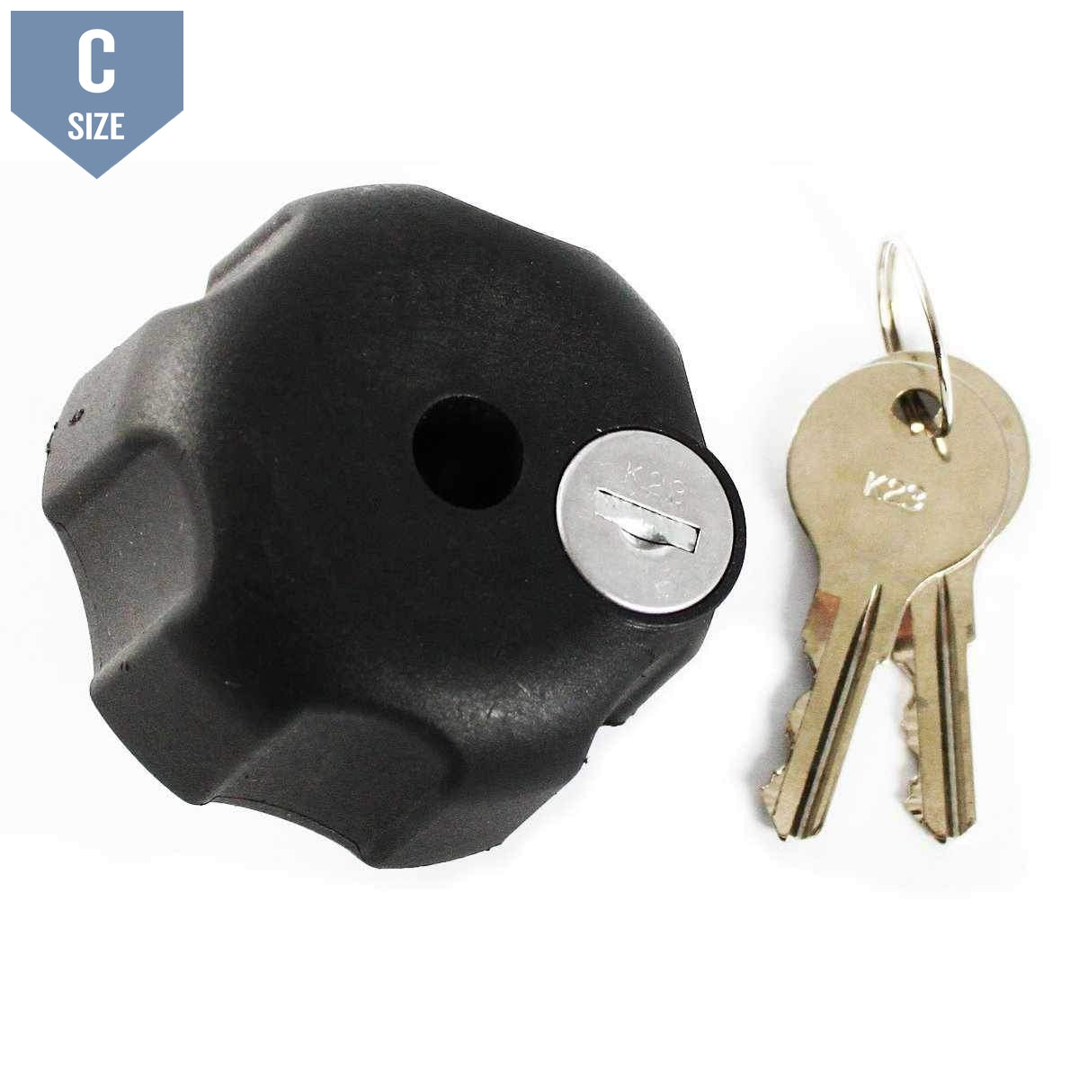 RAM Locking Knob for C Size Arm Clamps (RAM-KNOB5LU)-Modest Mounts