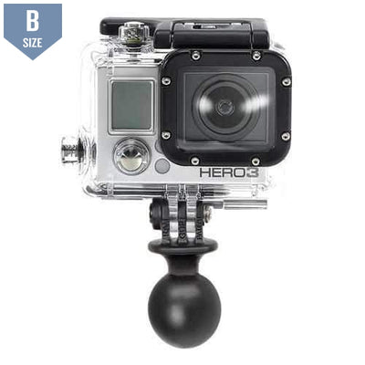 "RAM 1"" Ball Mount with GoPro Adapter (RAP-B-202U-GOP1) - Modest Mounts"